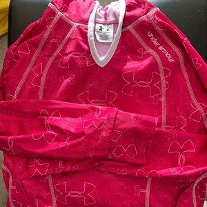 EUC girls under armour hoodie  M
